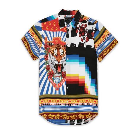 Collision Woven Shirt // Multi (S)