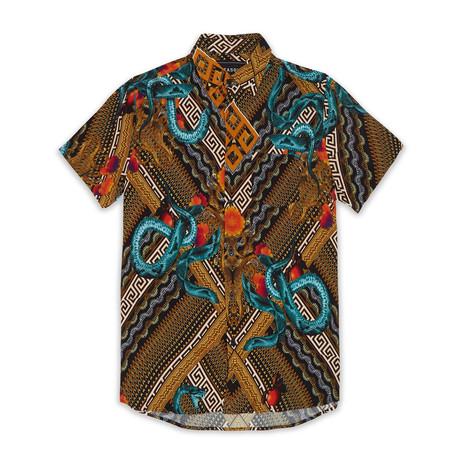 Serpents Woven Shirt // Multi (S)
