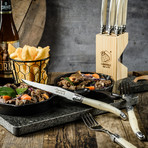 PREMIUM Collection // Steak Knife Set (Pearl)