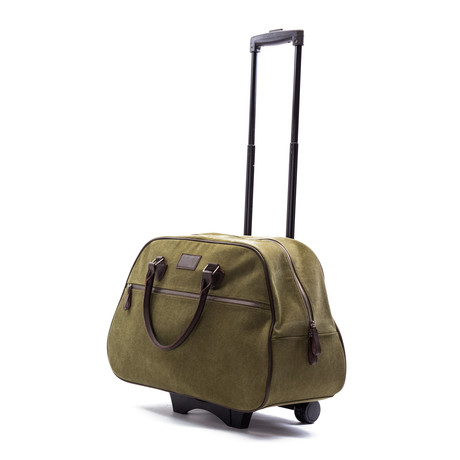 Mid City Rolling Bag (Hunter Green)