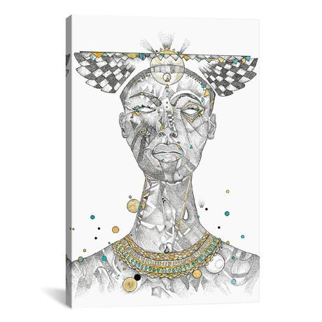 """Golden Goddess // Jason Humphrey (18""""W x 26""""H x 0.75""""D)"""
