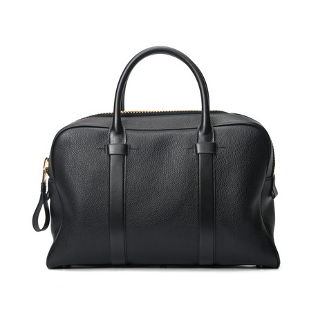 Wide Briefcase // Black