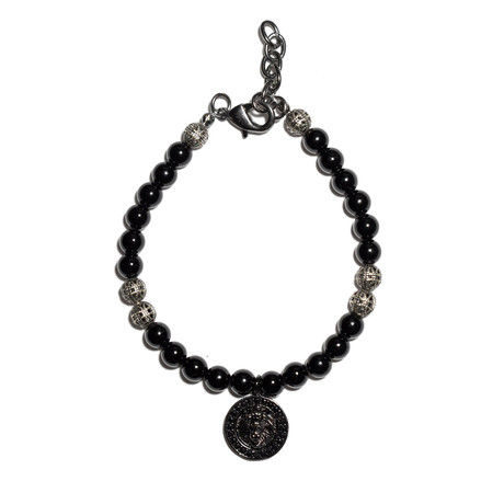 Phantom Lion Bracelet // Grey + Black