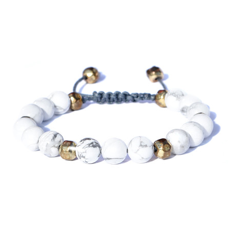 Pure Bracelet // White + Gold