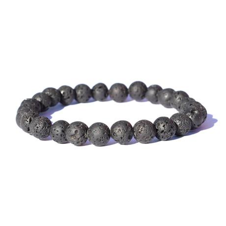 Fiery Magma Lava Bracelet // Black