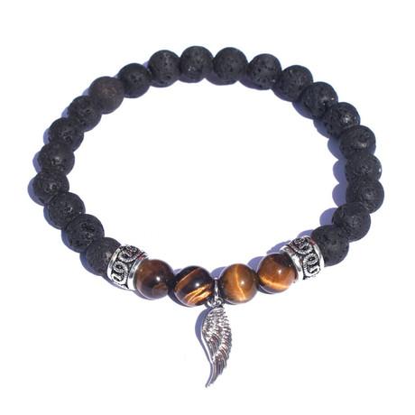 Wing Bracelet // Silver