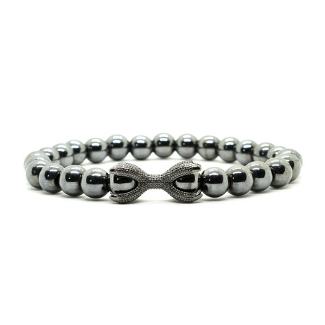 Stealth Claw Bracelet // Grey