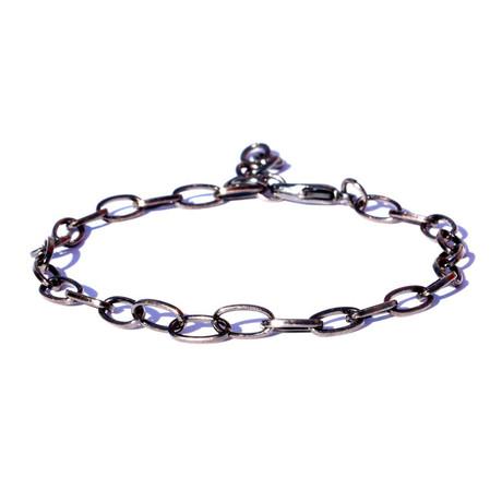Metal Chain Bracelet // Silver