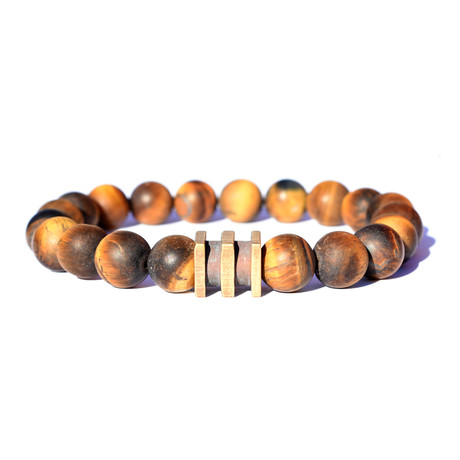 Mighty Cube Bracelet // Brown