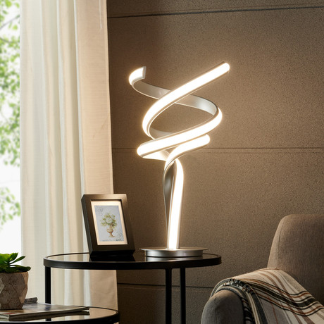 Hamburg // LED Table Lamp // Silver