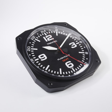 "10"" FLIGHTIME™ GMT Dual Time Clock"