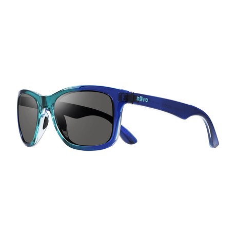 Huddie Modified Square Sunglasses // Seabreeze + Graphite