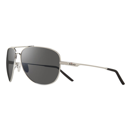 Windspeed II Aviator // Chrome + Graphite