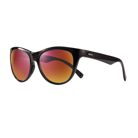 Barclay Polarized Cat Eye // Black + Spectra