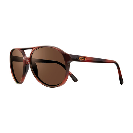 Marx Polarized Aviator // Honey Tortoise + Terra