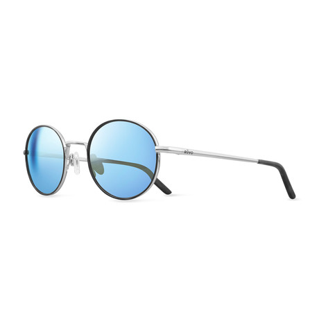 Brayton Polarized Round // Chrome + Blue Water