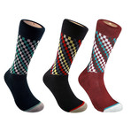 Fashion Crew Sock // Set of 3 (M)