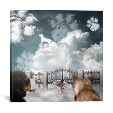 "Dog Heaven // Shaun Ryken (18""W x 18""H x 0.75""D)"