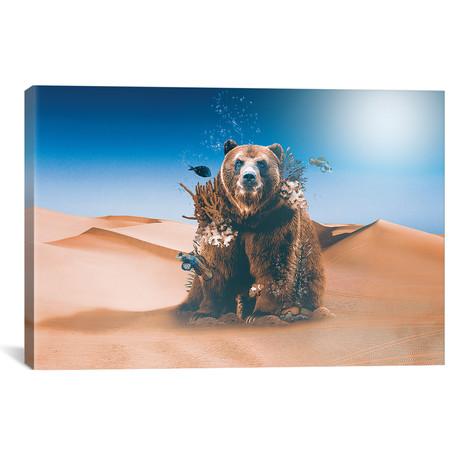 """Great BearierReef // Shaun Ryken (26""""W x 18""""H x 0.75""""D)"""