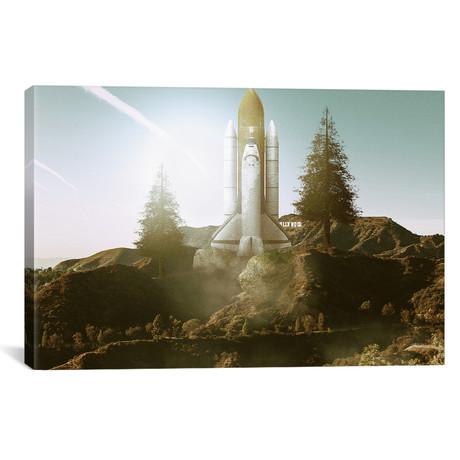 "Launch Day // Shaun Ryken (26""W x 18""H x 0.75""D)"