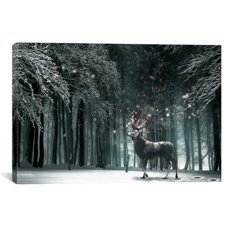 """Oh Deer // Shaun Ryken (26""""W x 18""""H x 0.75""""D)"""