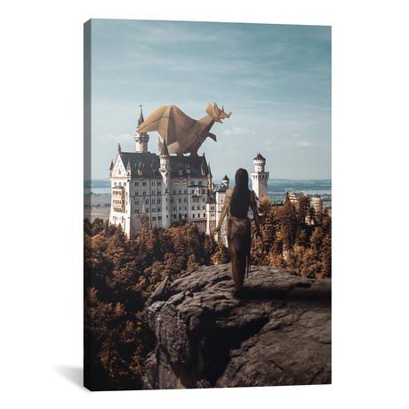"""Paper Dragon // Shaun Ryken (18""""W x 26""""H x 0.75""""D)"""