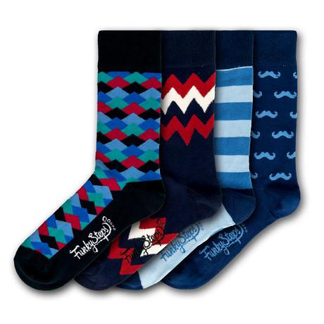 Hayes Socks // Set of 4