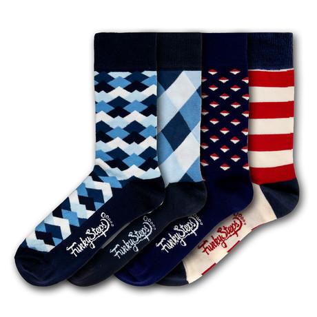 Ulysses Socks // Set of 4