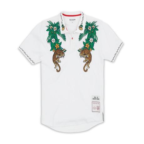 Borneo Polo // White (S)