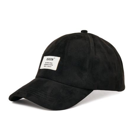 Suede Cap // Black