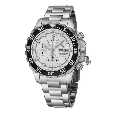 Ball Chronograph Automatic // DC3026A-SC-WH
