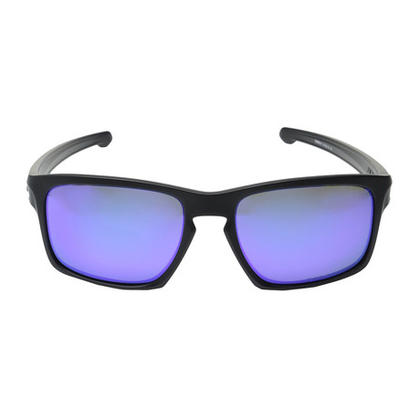 Silver // Polarized Matte Black + Violet // Polarized