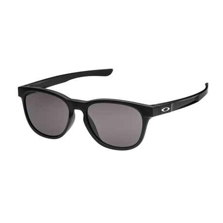 Men's Stinger Sunglasses // Gray Matte + Black