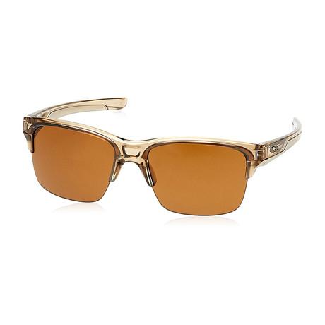 Men's Thinklink Sunglasses // Sepia Dark Bronze