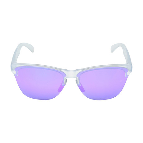Frogskins Light // Matte Clear + Violet