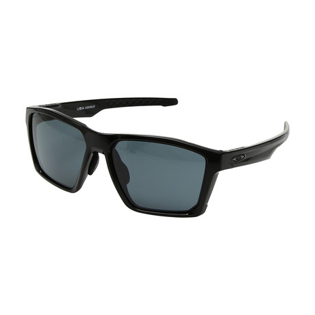 Men's Targetline Sunglasses // Black + Gray