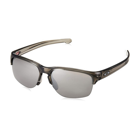 Men's Silver Edge Sunglasses // Gray