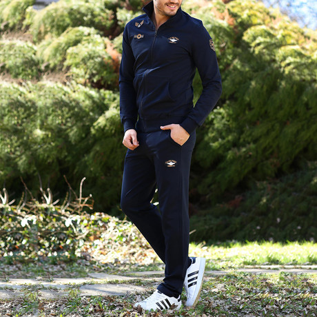Roosevelt Track Suit // Navy (XS)