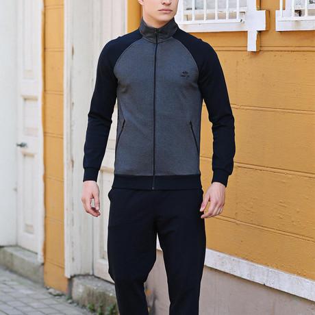Renato Track Suit  // Navy + Dark Gray (S)