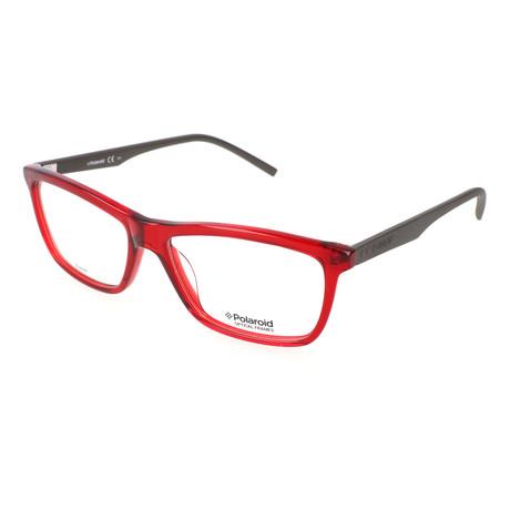 Men's PLD D307-1R7 // Red + Gray