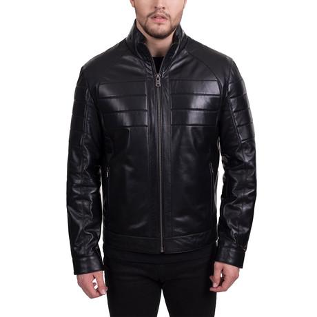 Rexton Leather Jacket // Black (Euro: 48)