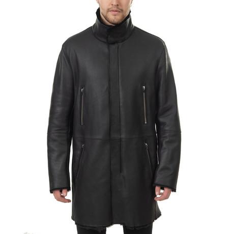 Neil Shearling Jacket // Black (Euro: 48)