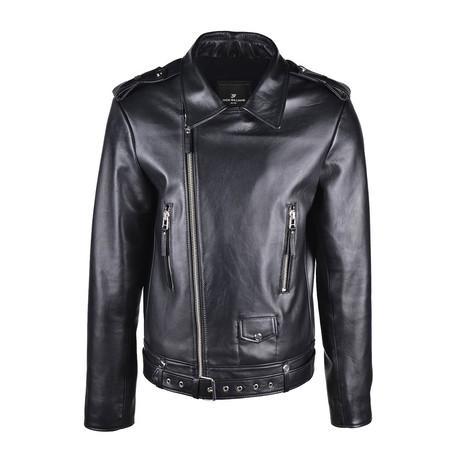 Maximus Leather Jacket // Black (XS)