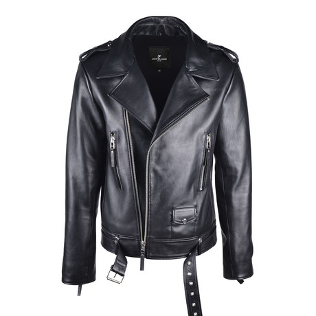 Maximus Leather Jacket // Black (Small)