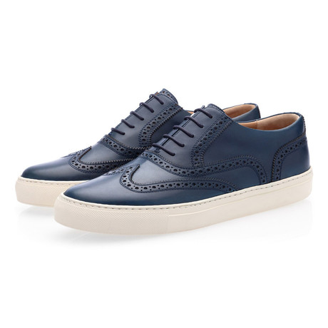 Castor Nappa Low Top // Navy (Euro: 41)