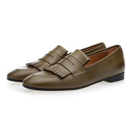 Cesar Nappa Loafers // Olive (Euro: 39)