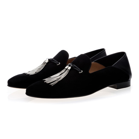 Nappier Suede Demi-Slippers // Black (Euro: 39)
