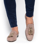 Louis Velukid Slippers // Taupe (Euro: 45)