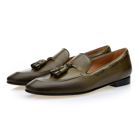 Philippe Nappa Loafers // Olive (Euro: 39)