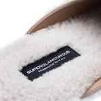 Savanooga Shearling Lounge-Slippers // White (Euro: 39)